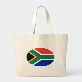 South Africa Flag Oval The MUSEUM Zazzle Gifts Jumbo Tote Bag