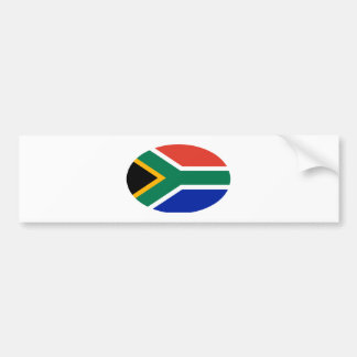 South Africa Flag Oval The MUSEUM Zazzle Gifts Car Bumper Sticker