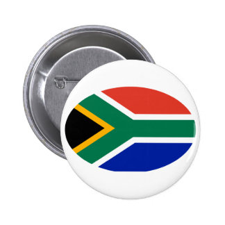 South Africa Flag Oval The MUSEUM Zazzle Gifts 2 Inch Round Button
