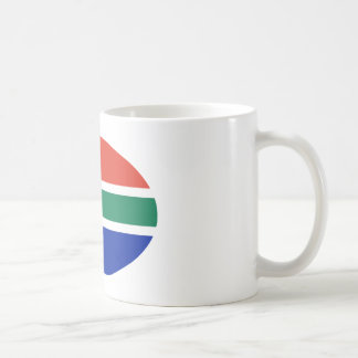 South Africa Flag Oval The MUSEUM Zazzle Gifts Coffee Mug