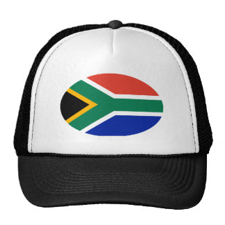 South Africa Flag Oval The MUSEUM Zazzle Gifts Trucker Hat