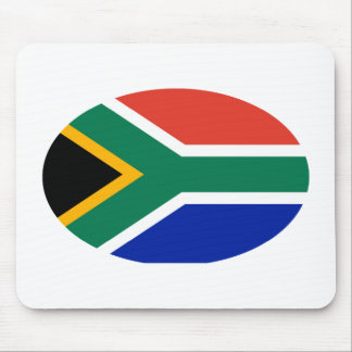 South Africa Flag Oval The MUSEUM Zazzle Gifts Mouse Pad