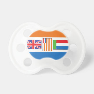 South Africa Flag Pacifier
