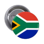 South Africa Flag Pinback Buttons