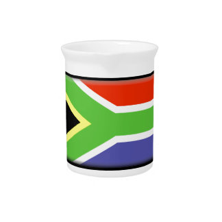 South Africa Flag Drink Pitcher