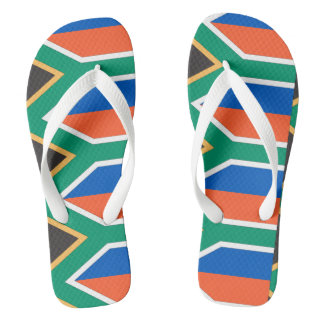 South Africa Flag -.png Flip Flops
