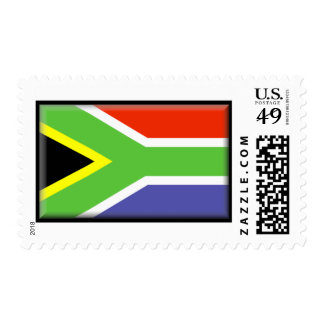 South Africa Flag Postage Stamp
