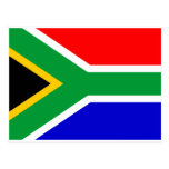 South Africa Flag Postcards