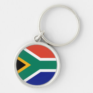 South Africa flag premium keychain
