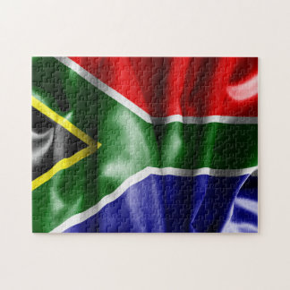 South Africa Flag Jigsaw Puzzle