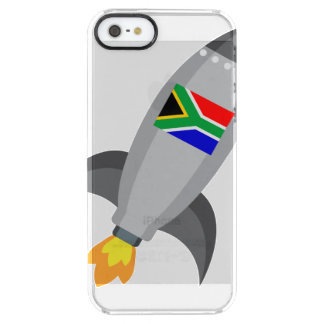 South Africa Flag Rocket Clear iPhone SE/5/5s Case
