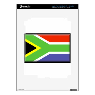 South Africa Flag Decals For iPad 3
