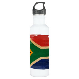 South Africa Flag Stainless Steel Water Bottle