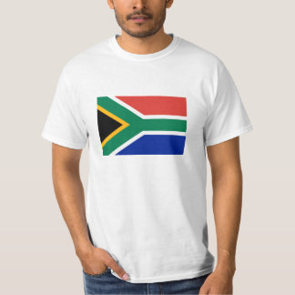 South Africa flag T Shirts