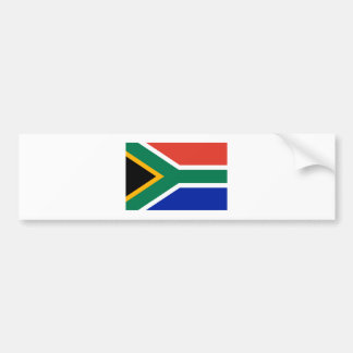 South Africa Flag The MUSEUM Zazzle Gifts Template Car Bumper Sticker