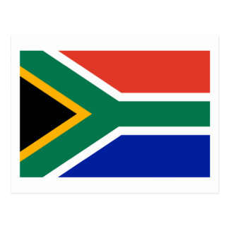 South Africa Flag The MUSEUM Zazzle Gifts Template Postcard