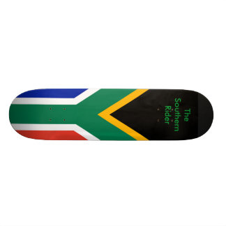 South Africa Flag The MUSEUM Zazzle Gifts Template Skate Deck