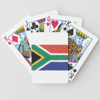 South Africa Flag Theme Bicycle Playing Cards