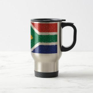 South Africa Flag Theme Travel Mug