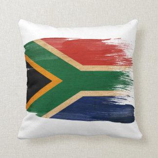South Africa Flag Throw Pillow