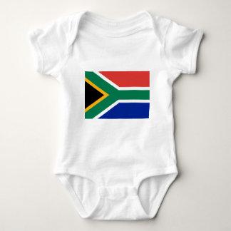 South Africa Flag -  Vlag van Suid-Afrika Baby Bodysuit