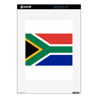 South Africa Flag -  Vlag van Suid-Afrika Decals For iPad