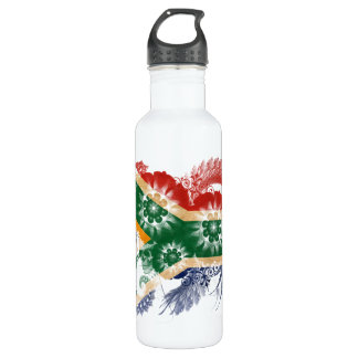 South Africa Flag Water Bottle
