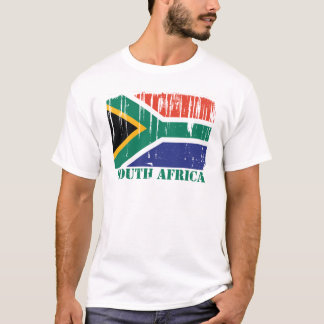 South Africa Flag World T-Shirt