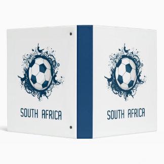 South Africa Football Vinyl Binder