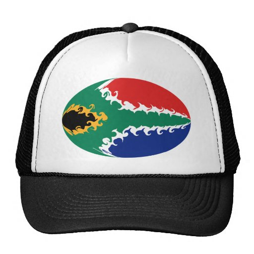 South Africa Gnarly Flag Hat