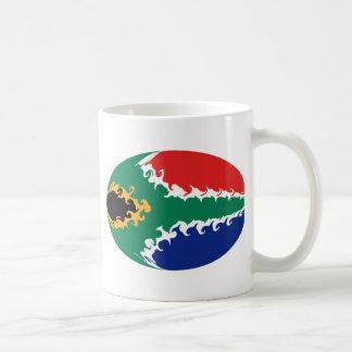 South Africa Gnarly Flag Mug