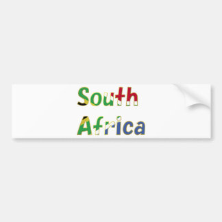 South Africa Goodies Bumper Stickers