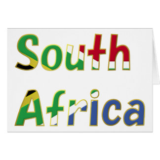 South Africa Goodies Card