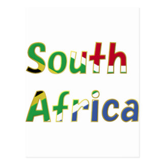 South Africa Goodies Postcard