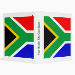 South Africa High quality Flag 3 Ring Binder