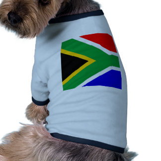 South Africa High quality Flag Dog T Shirt