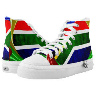 South Africa High-Top Sneakers