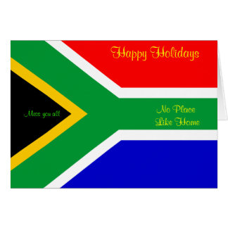South Africa holiday greeting cards