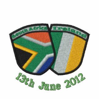 South Africa/Ireland Friendship Flags Shirt Polo Shirt