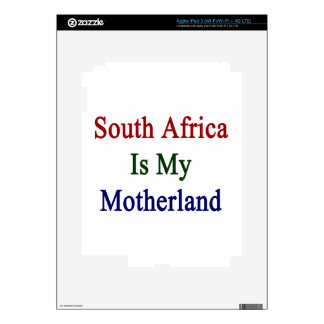 South Africa Is My Motherland iPad 3 Skin