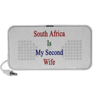 South Africa Is My Second Wife Notebook Speakers