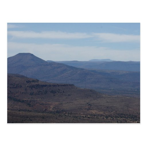 South Africa Landscape Post Card