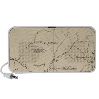 South Africa Lithographed Map Laptop Speakers