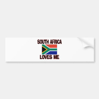 South Africa Loves Me Bumper Stickers