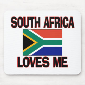 South Africa Loves Me Mouse Mat