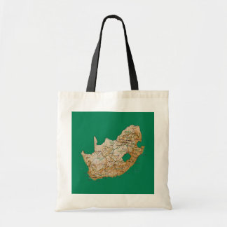 South Africa Map Bag