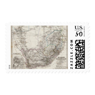 South Africa Map Postage