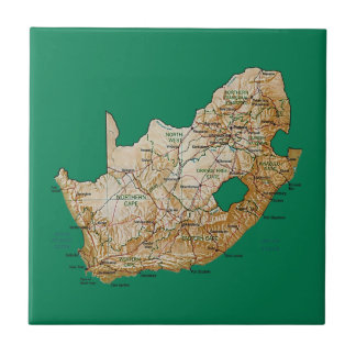 South Africa Map Tile
