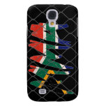 South Africa MMA black iPhone 3G/3GS case Samsung Galaxy S4 Covers