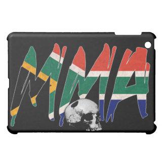 South Africa MMA Skull Black iPad Case